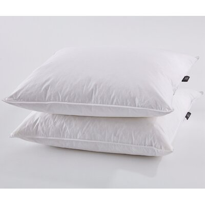 Goose Down and Feathers Pillow Size: Standard