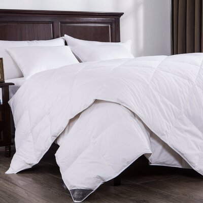 Lightweight Down Comforter Size: Twin