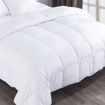 Heavyweight Down Comforter Size: Full / Queen