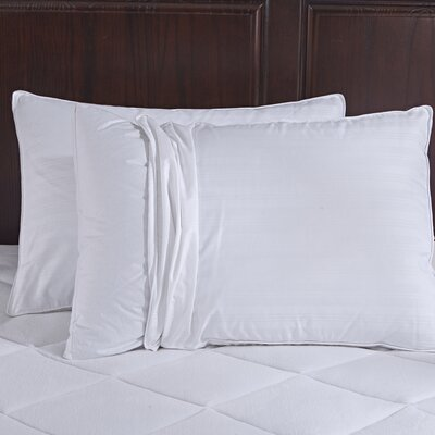 600 Fill Power Gusset Goose Down Pillow Size: King