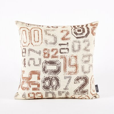 Throw Pillow Cover Color: Brown