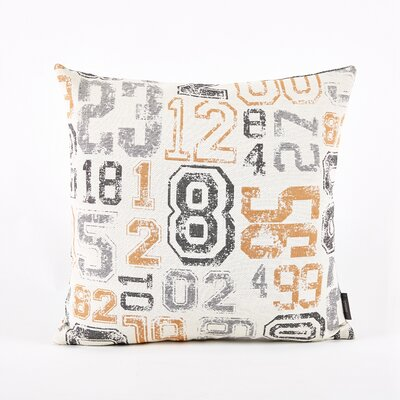 Throw Pillow Cover Color: Green/Orange