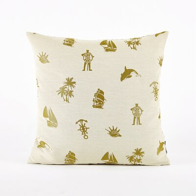 Throw Pillow Cover Color: Green