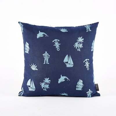 Throw Pillow Cover Color: Blue