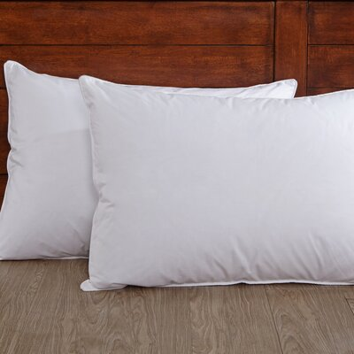 Down and Feathers Pillow Size: Standard/Queen