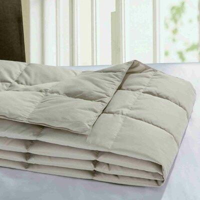 Down Throw Blanket Color: Khaki