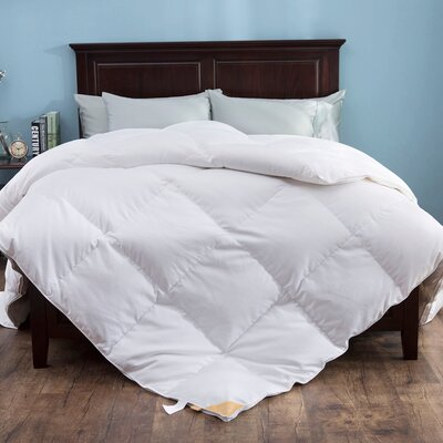 Heavy Fill Goose Down Comforter Size: King