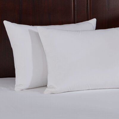 Natural Memory Foam Goose Feather Pillow Size: King