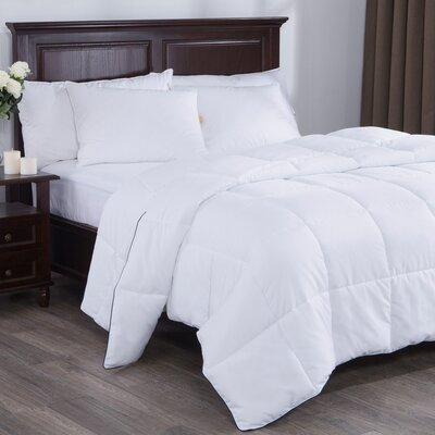 Light Weight Down Alternative Comforter Size: King