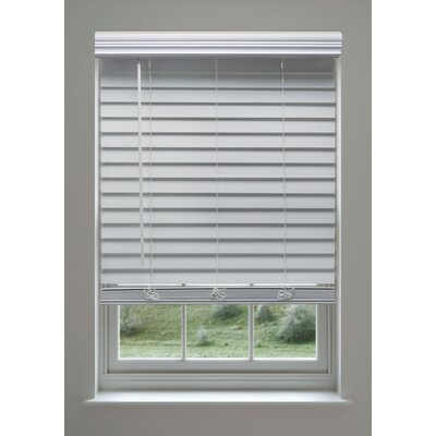 Custom Cordless Faux Wood Venetian Blind