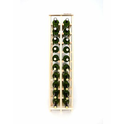 Premium Cellar Series 20 Bottle Floor Wine Rack Finish: Pine