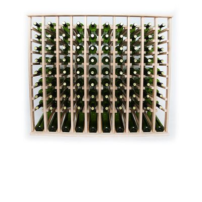 Premium Cellar Series 100 Bottle Floor Wine Rack Finish: Oak
