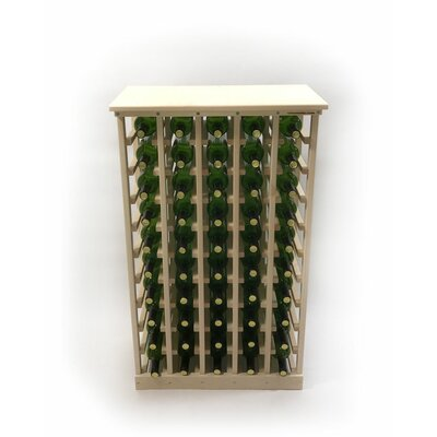 50 Bottle Floor Wine Bottle Rack Assembly Type: Fully Assembled