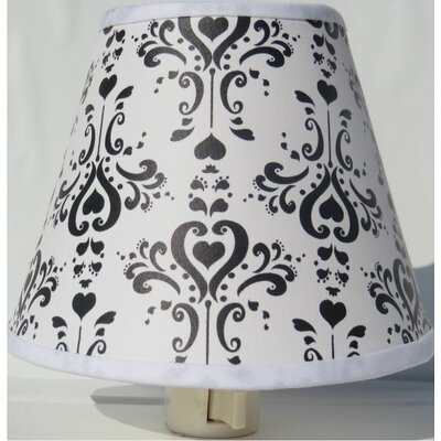 Damask Night Light Color: Black