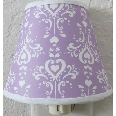 Damask Night Light Color: Purple