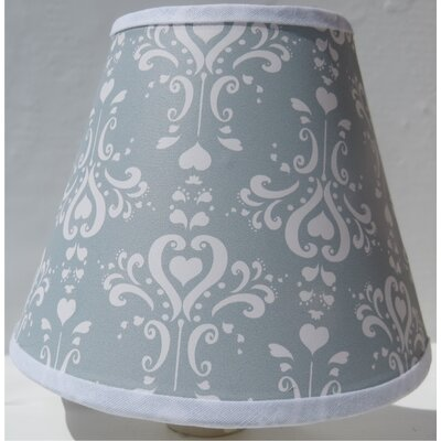 Damask Night Light Color: Grey