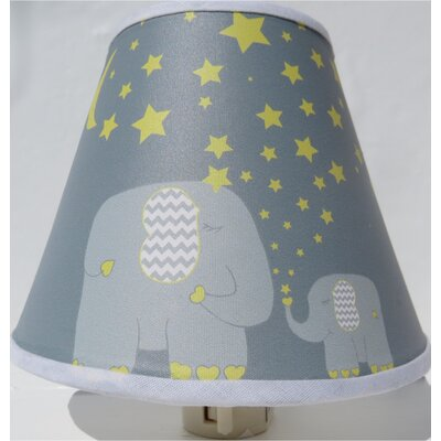 Elephant with Stars and Moon Night Light