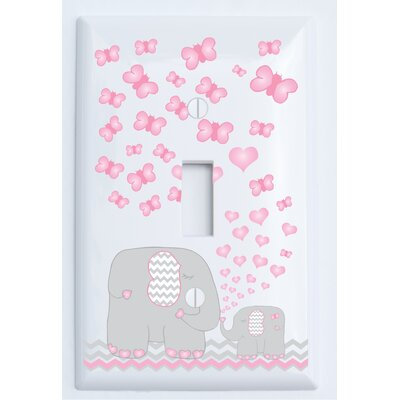 Elephant Light Switch Plate Cover