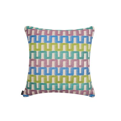 Elite Color Path Indoor/Outdoor Sunbrella Throw Pillow Size: 22 H x 22 W x 6 D, Color: Green