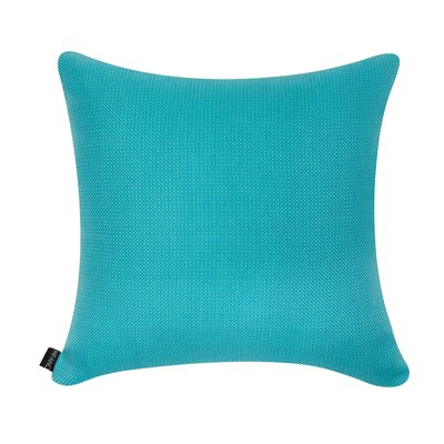 D�cor Alyssa Luvs Indoor/Outdoor Throw Pillow Size: 20 H x 20 W x 6 D, Color: Caribbean Blue