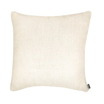 D�cor Alyssa Luvs Indoor/Outdoor Throw Pillow Size: 18 H x 18 W x 6 D, Color: Sand Dollar