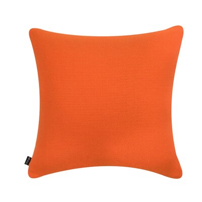 D�cor Alyssa Luvs Indoor/Outdoor Throw Pillow Size: 22 H x 22 W x 6 D, Color: Tangerine Cutie