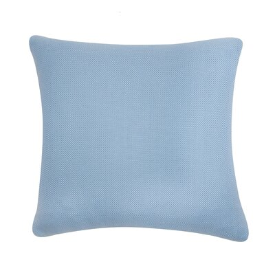 D�cor Alyssa Luvs Indoor/Outdoor Throw Pillow Size: 16 H x 16 W x 6 D, Color: Carolina Blue