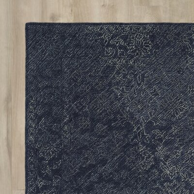 Otisville Hand-Tufted Denim Area Rug