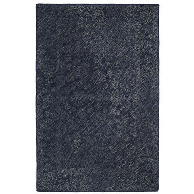 Otisville Hand-Tufted Denim Area Rug Rug Size: Rectangle 2 x 3