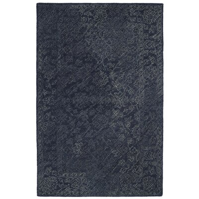 Otisville Hand-Tufted Denim Area Rug Rug Size: 8 x 10