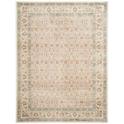 Belhaven Ivory Area Rug Rug Size: Rectangle 8 x 11