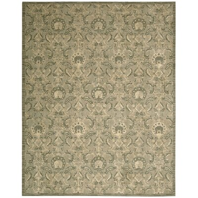 Babson Light Gold Area Rug Rug Size: 86 x 116