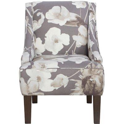 Goldhorn Armchair Upholstery: Adagio Driftwood, Nailhead Detail: No Trim