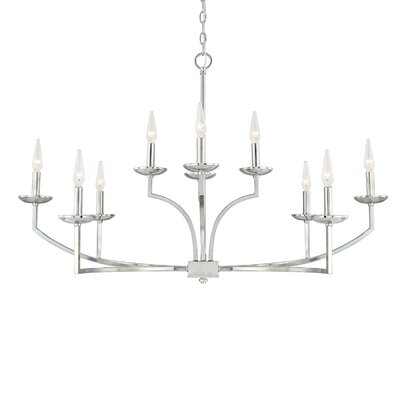 Grambling 10-Light Candle-Style Chandelier