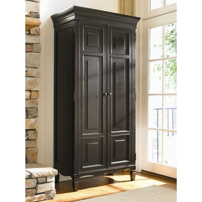 Payton 2 Door TV-Armoire Finish: Midnight