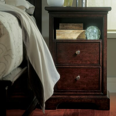 Turner 2 Drawer Nightstand