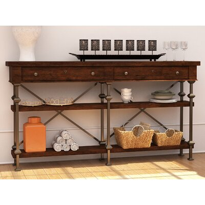 Howell Belgian Cross Huntboard Buffet Finish: Terrain