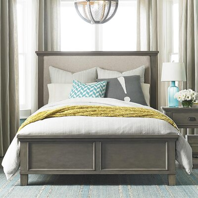 Bois Upholstered Panel Bed Size: California King