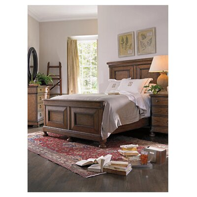 Howell Platform Bed Size: Queen, Finish: Distressed Blond