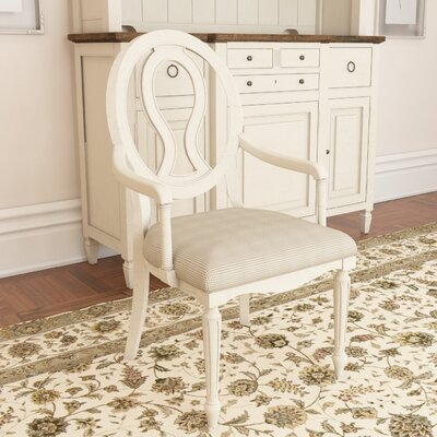 Causey Park Arm Chair (Set of 2) Finish: Cotton-hued