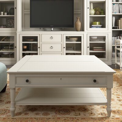 Payton Coffee Table with Lift Top Color: Cotton