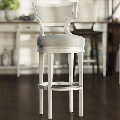 Sandusky Swivel Bar Stool with Cushion