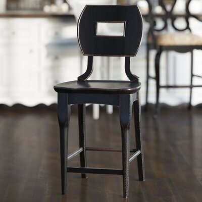 Highcliffe 23.5 Bar Stool Finish: Ebony