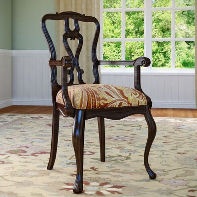 Hepburn Arm Chair Arm Chair Finish: Sorrel