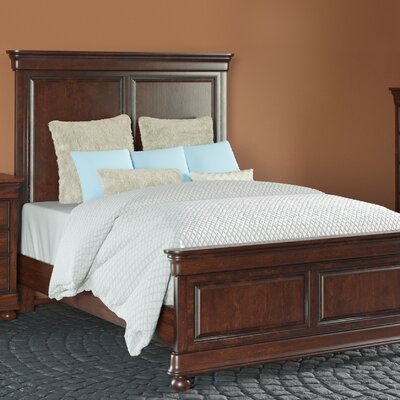 Davison Panel Bed Color: Orleans, Size: California King