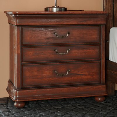 Davison 3 Drawer Bachelor's Chest Finish: Orleans