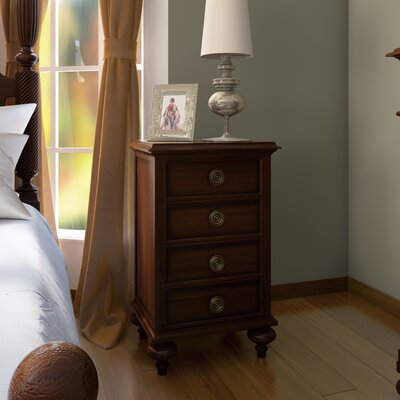 Sanford 4 Drawer Nightstand