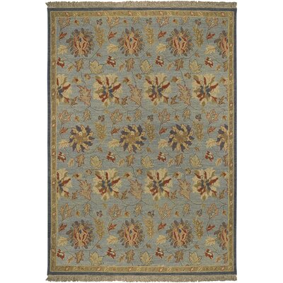Charleston Blue Rug Rug Size: Rectangle 6 x 9