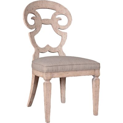 Reilley Side Chair Finish: Weathered Cream