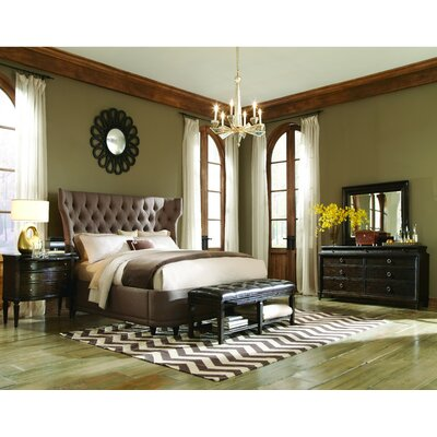 Roseville Platform Configurable Bedroom Set